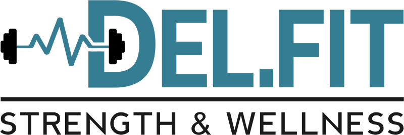 DEL.FIT Strength & Wellness Logo